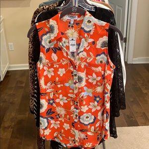 NWT sleeveless portofino shirt